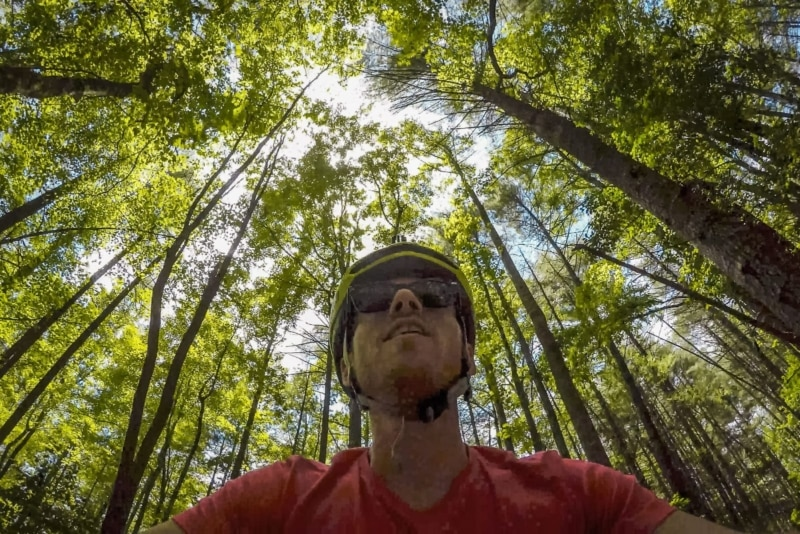Mountain biking in DuPont National State Forest