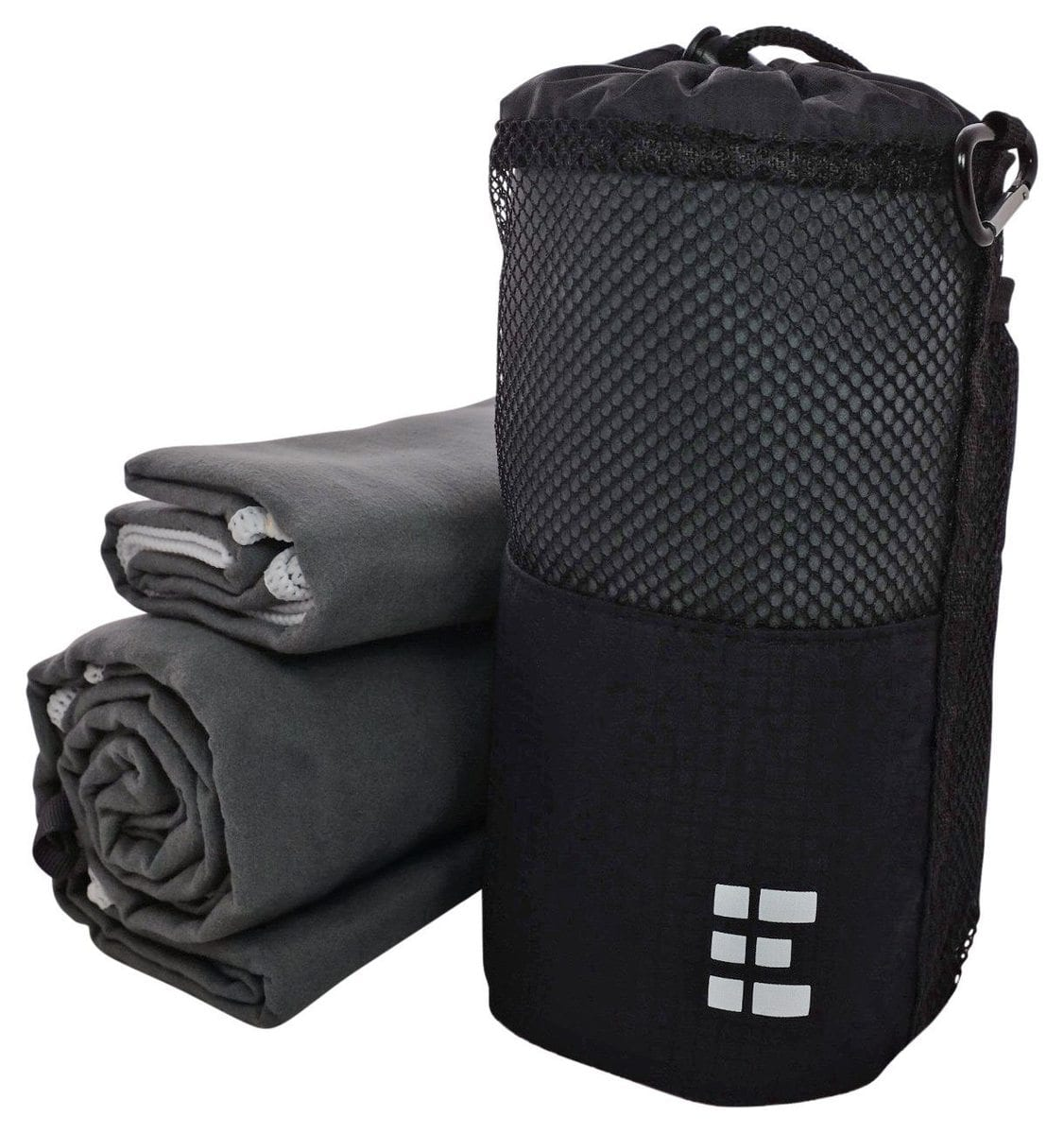 zero grid microfiber travel towel u2013 2 pack compact quickdrying set