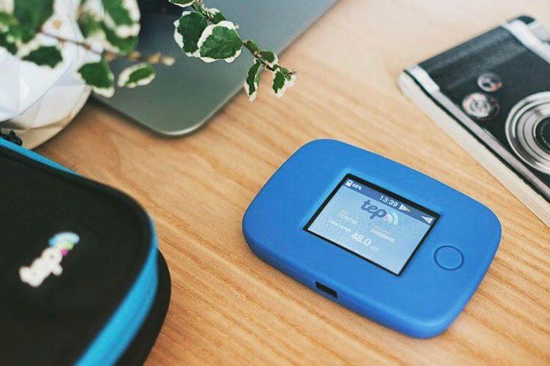 Pocket WiFi from Tep Wireless
