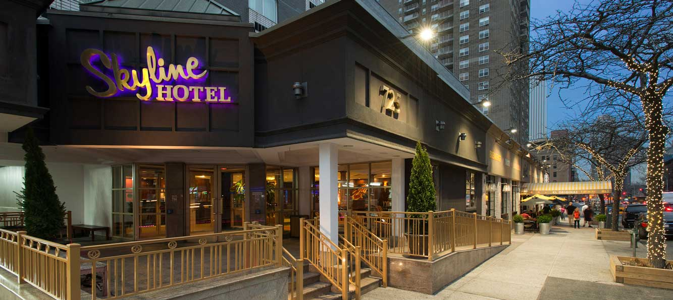 Stay at the Skyline Hotel in New York?