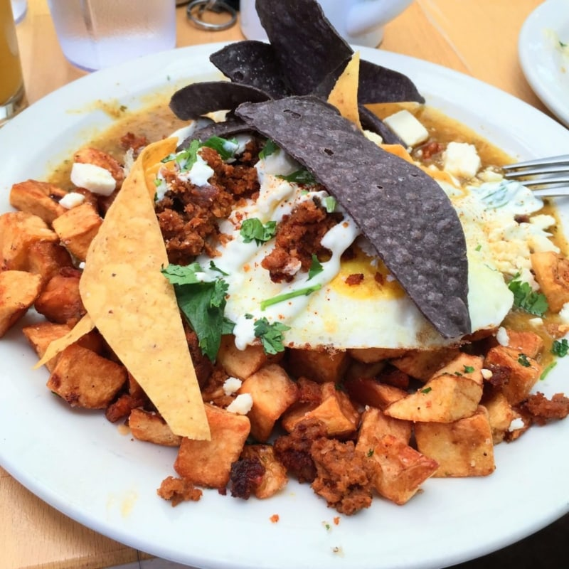 Wondering where to eat in Asheville? Try Sunny Point Cafe!
