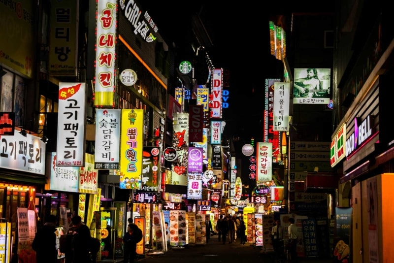 You can make a great salary as an English teacher by living and working in South Korea