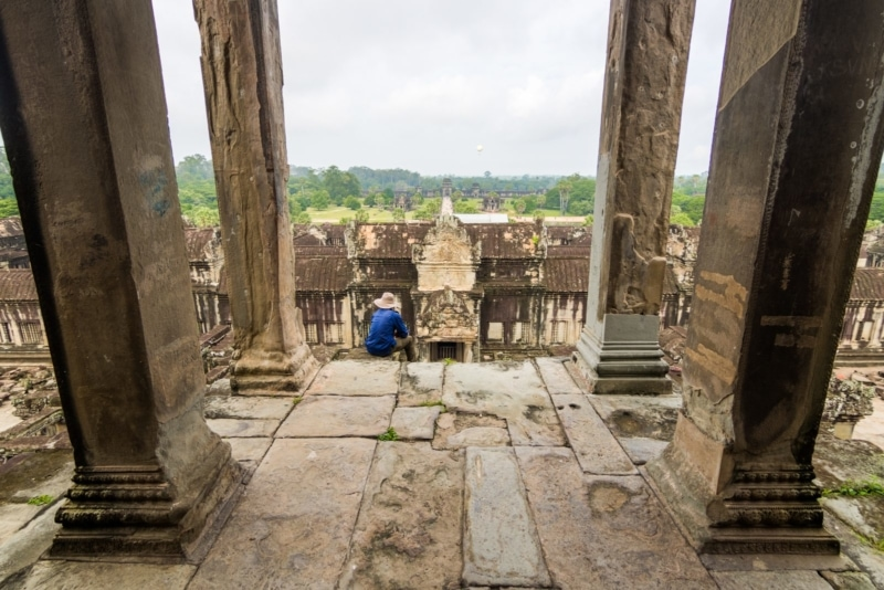 Travel to the famous Angkor temples in Cambodia