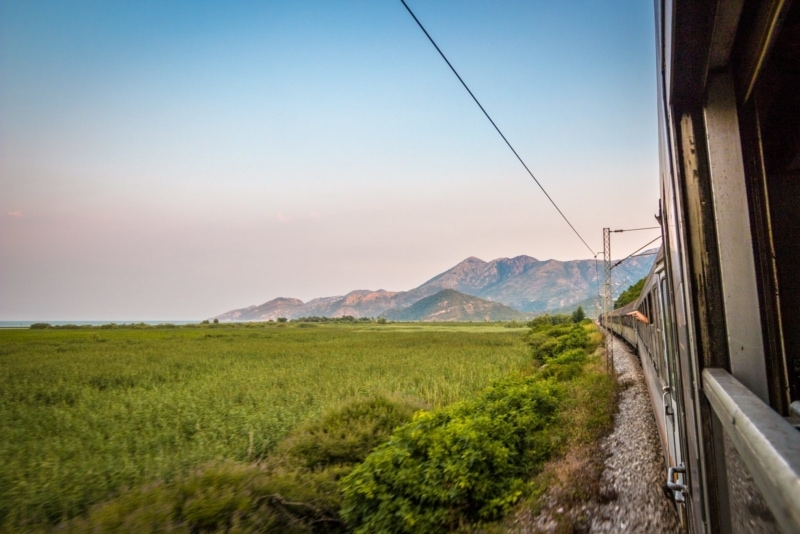 Traveling solo by train in the Balkans