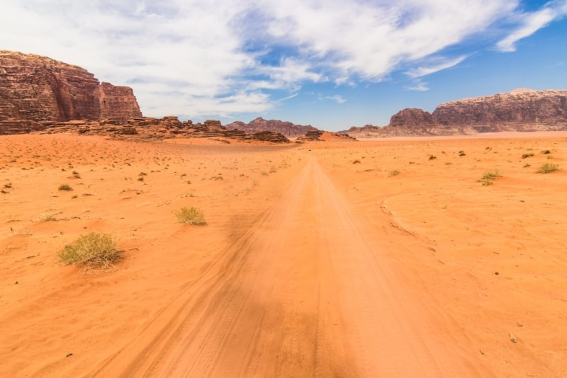 Whether or not you quit school to travel, you can still make time to visit the Wadi Rum desert!