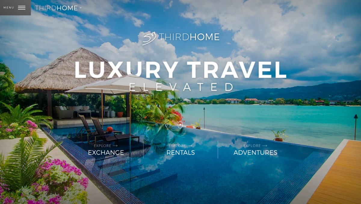 Third Home is the most luxurious Airbnb alternative on this list!