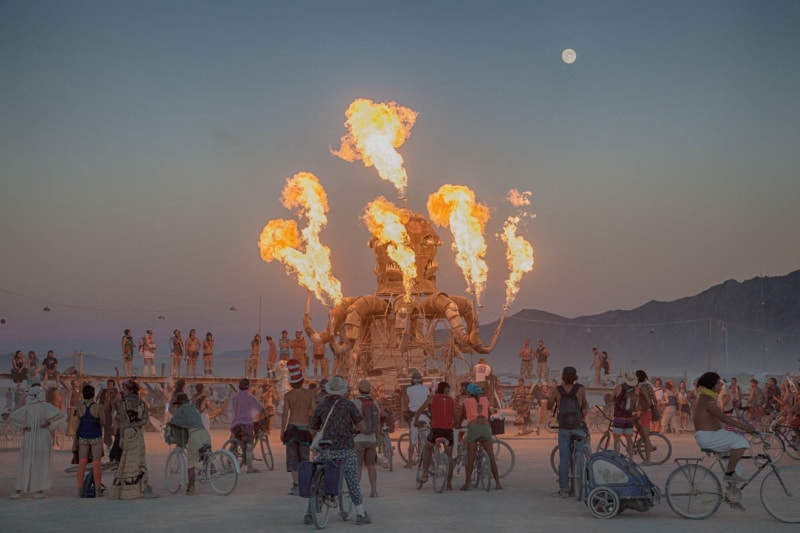 Burning Man is one of the most epic summer music festivals you can attend.