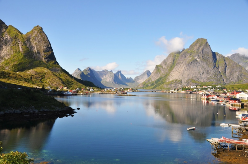 Lofoten Island of Norway