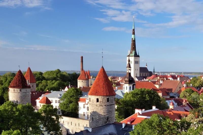 Old Tallinn view