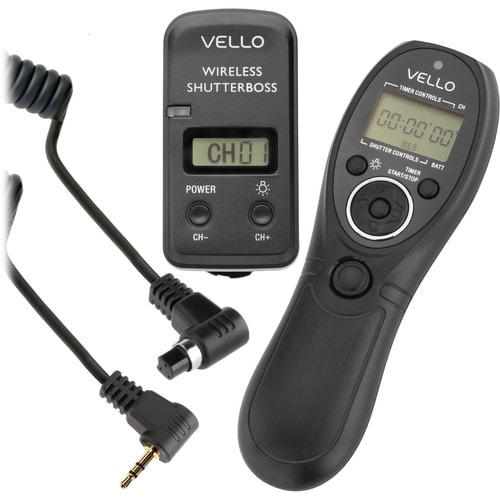Vello ShutterBoss III Wireless Intervalometer