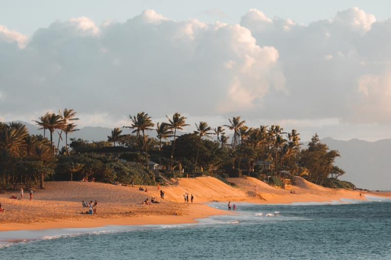 Sunset Beach, north shore, Oahu Beaches