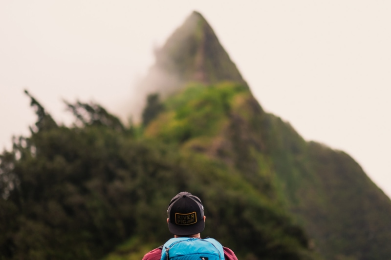 Oahu's Pali Notches view
