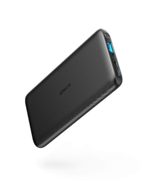 The Anker PowerCore is slim and light, making it a perfect travel gift