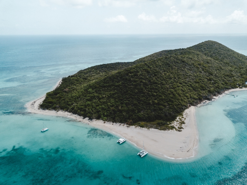 Buck Island, just off the coast of St. Croix