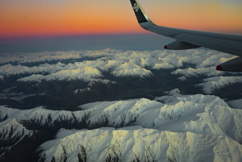 Backpacking New Zealand: Flying into Queenstown