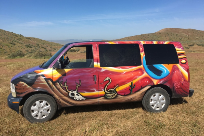 1999 Chevrolet Astrovan is a perfect choice for camper vans if you're looking to get out into the wilderness