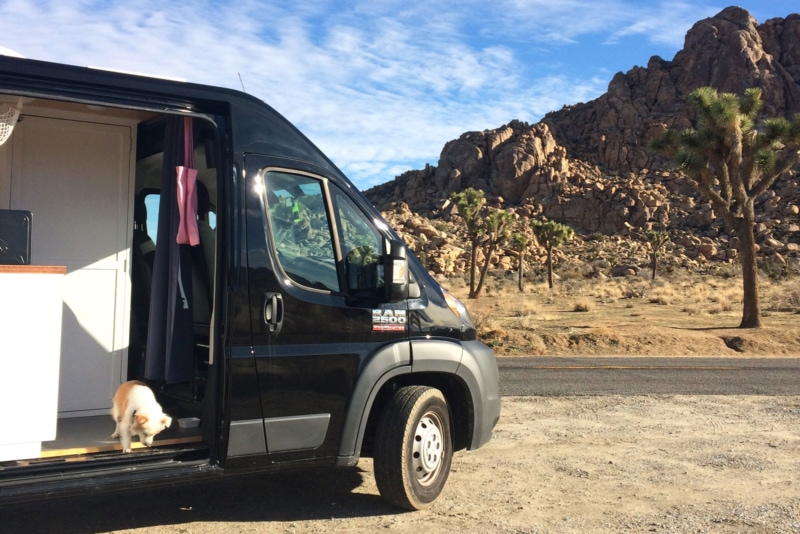 The 2018 Dodge ProMaster is a great choice of camper vans
