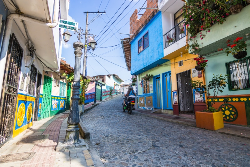 On the streets of Guatape