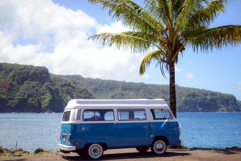 VW Campervan rental in Hawaii