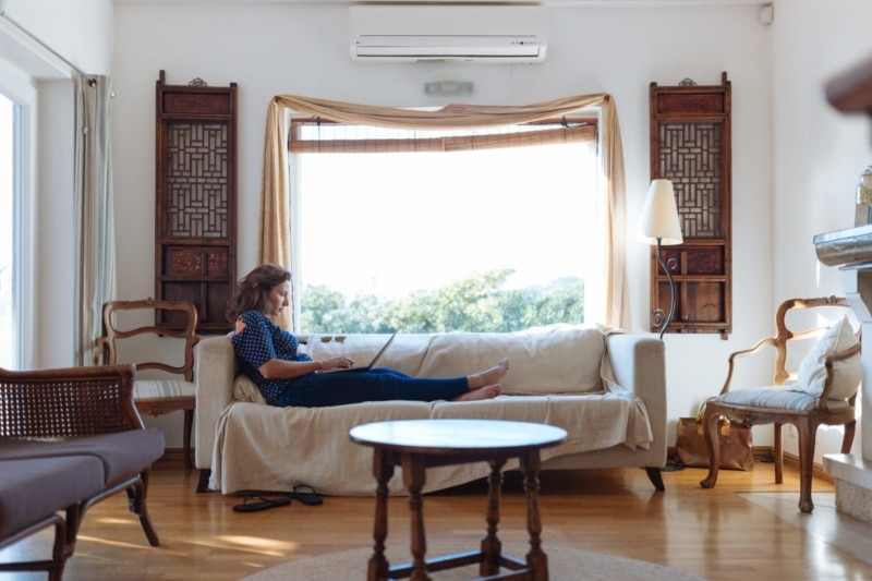 Work and travel as a housesitter! You won't get paid, but you'll get free accommodation.