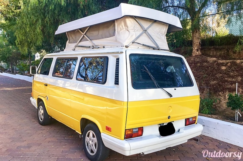 Outdoorsy's 1990 Classic VW Campervan in Hawaii