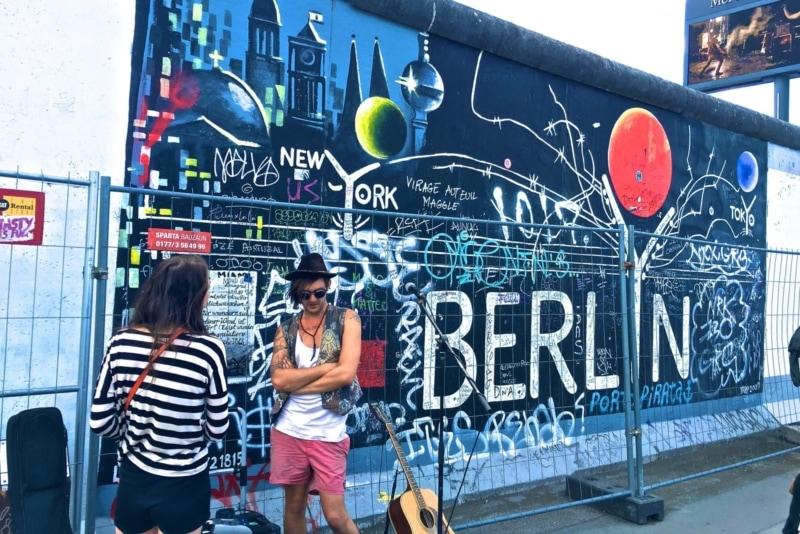The Berlin Wall, Berlin