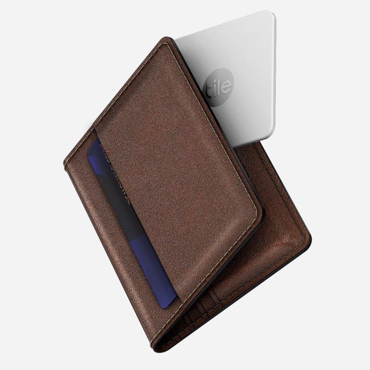 NOMAD Slim Tile Tracking Wallet