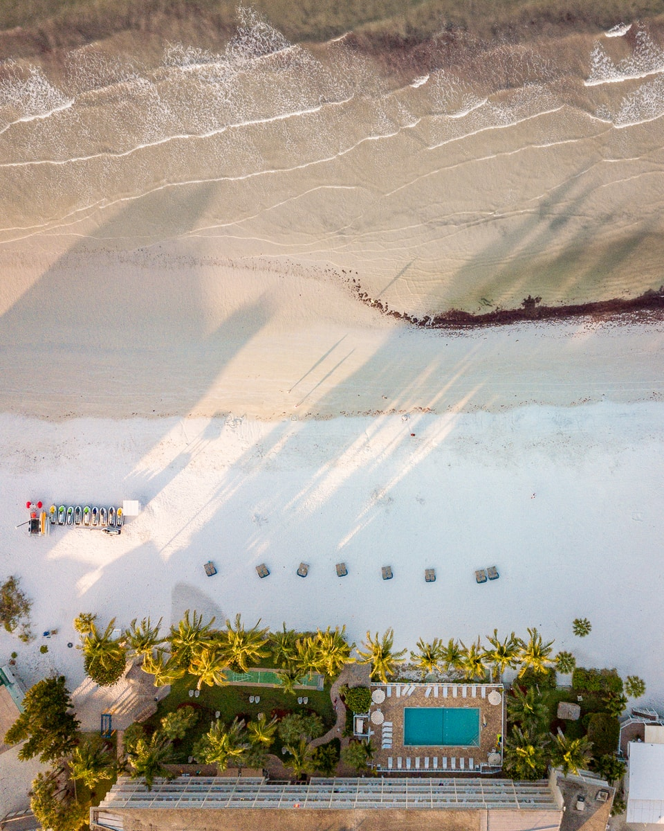 Fort Myers Beach Aerial