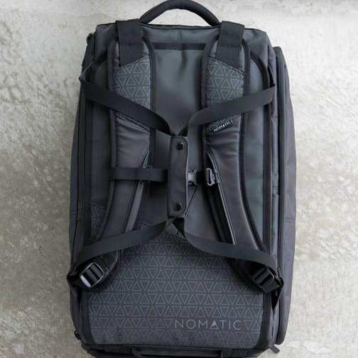 Nomatic Travel Bag straps view