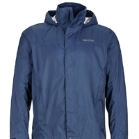 Marmot Precip rain jacket in blue