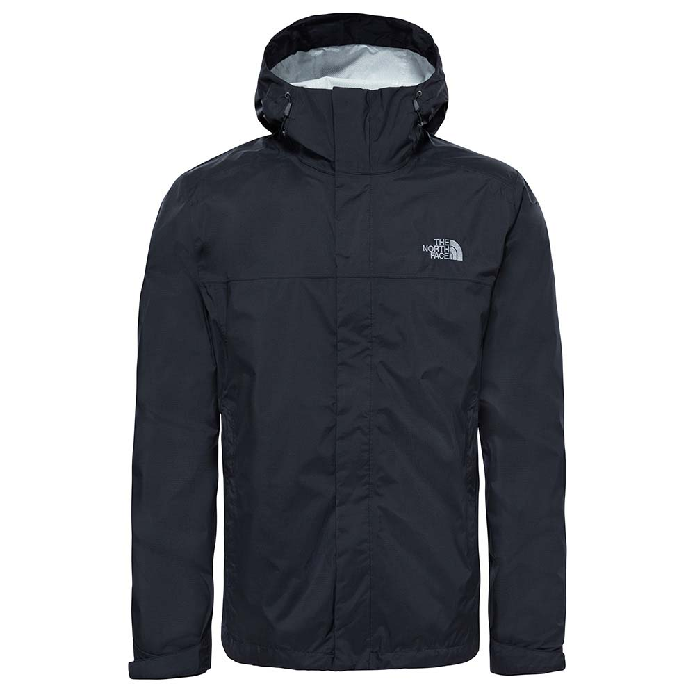 North Face Venture 2 Rain Jacket in black for men