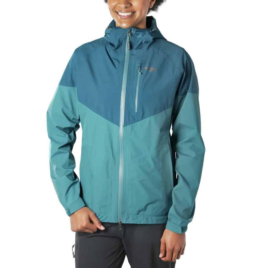 Outdoor Research Aspire's rain jacket for women