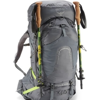 Osprey Atmos 65 ice tools