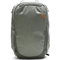 Frontal view of the 45L Peak Design Travel Backpack
