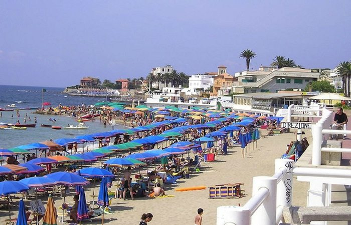 santa mariella best beaches rome