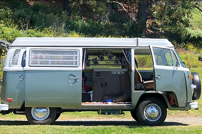 This old Westy is a classic when it comes to camper vans!