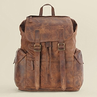 Wilson's Vintage Leather Backpack