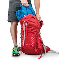 Inside this pack are 33 liters of space, perfect for day hikes.