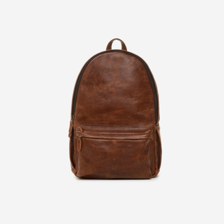 ONA's Clifton Leather Backpack