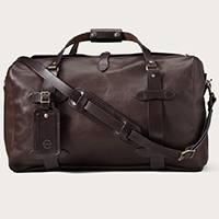 Filson Medium Weatherproof Leather Duffel Bag