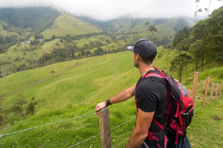 Hiking in the Corcora Valley, Colombia