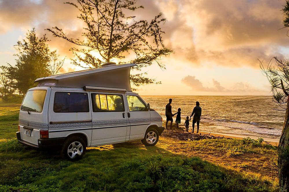 Liza, the pristine Hawaiian Euro van Full Camper.