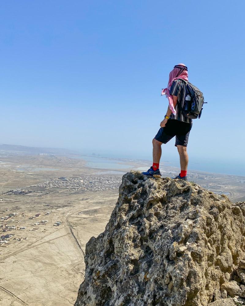 hiking in Azerbaijan