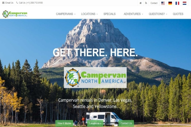 North America Campervans